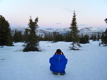 小雪の写真2009年inアラスカ